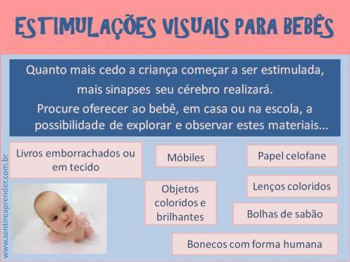 Evangelizaçao Bebes - Estimulos