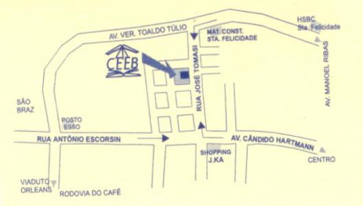 Mapa CEEB